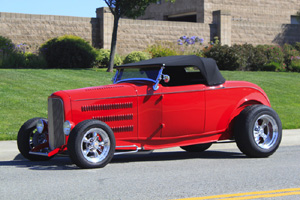 Click to View Roy Brizio Street Rods Completed Cars - Joe Casanova - 1932 Ford Hi-Boy - San Jose CA