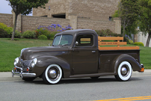 Click to View Roy Brizio Street Rods Completed Cars - Bob McDonald - 1940 Ford Pick up - Hailey ID