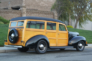 Click to View Roy Brizio Street Rods Completed Cars - Ted Stevens - 1940 Ford Woodie - Carmel CA