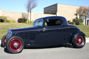 Click to View Roy Brizio Street Rods Completed Cars - Owner Chuck Thornton - San Mario CA