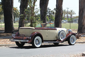 Click to View Roy Brizio Street Rods Completed Cars - John Scully - 1932 Lincoln Touring Car - San Francisco CA