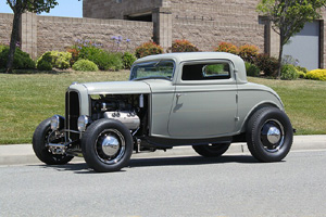 Click to View Roy Brizio Street Rods Completed Cars - Scott Gillen, Malibu CA, 1932 Ford 3 Window Coupe
