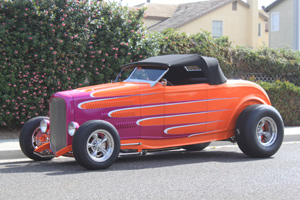 Click to View Roy Brizio Street Rods Completed Cars - Bob Larance Port Orange FL 1932 Ford Hiboy