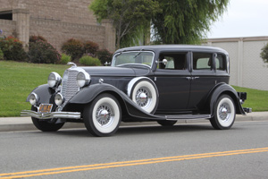 Click to View Roy Brizio Street Rods Completed Cars - John Scully San Francisco CA 1933 Lincoln Sedan
