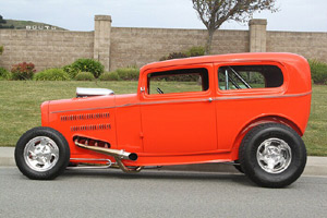 Click to View Roy Brizio Street Rods Completed Cars - Scott Hawley - 1932 Ford 2 Door - Sedan Burlingame CA