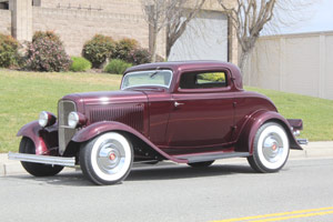Click to View Roy Brizio Street Rods Completed Cars - John Mumford, Woodside CA, 1932 Ford Three Window Coupe