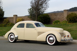 Click to View Roy Brizio Street Rods Completed Cars - Chuck Thornton 1937 Cord - San Marino CA