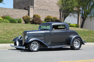 Click to View Roy Brizio Street Rods Completed Cars - Eric Clapton's 1932 Ford 3- Window