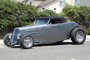 Click to View Roy Brizio Street Rods Completed Cars - Jay Ferro, Half Moon Bay CA  1933 Ford Roadster