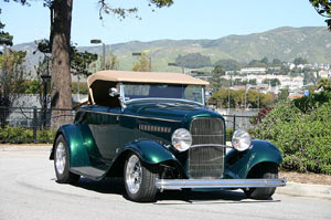 Click to View Roy Brizio Street Rods Completed Cars - Garret Bouton - San Francisco CA