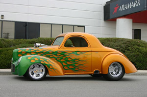 Click to View Roy Brizio Street Rods Completed Cars - Owner Mike Medeiros - Woodside CA