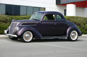 Click to View Roy Brizio Street Rods Completed Cars - Owner Jim Holmes - Mountain View CA