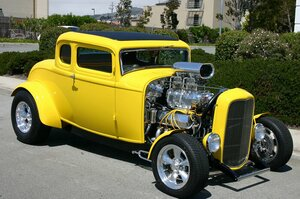 Click to View Roy Brizio Street Rods Completed Cars - Mike Medeiros - Woodside CA