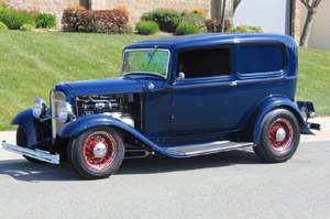 Click to View Roy Brizio Street Rods Completed Cars - Hal and Carole Weibel - Lake Forest IL