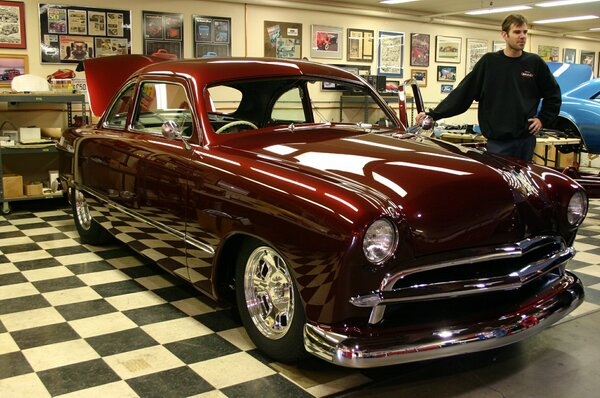 Eric Clapton 1949 Ford Coupe
